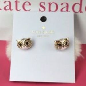 NWT KATE SPADE Reversible Gold Plated Earrings